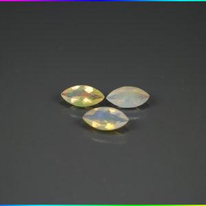 3 ks Opál 0.99 ct