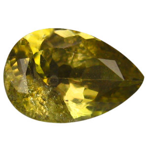 Tanzanit 0.99 ct žlutý